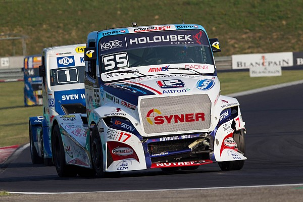 European Truck Lacko lands another European Trucks triple in Hungary
