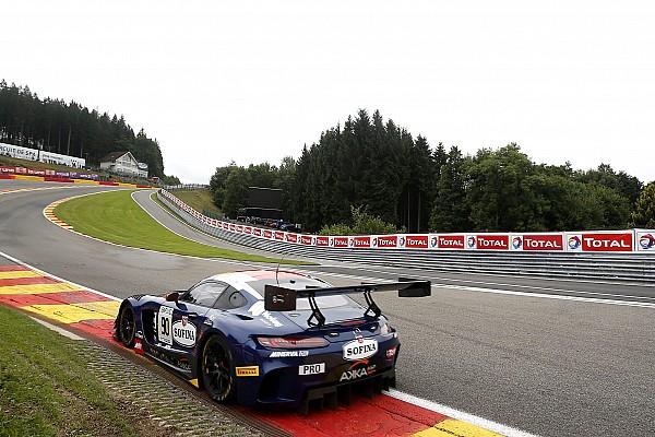 24 uur Spa: Marciello snelste in eerste kwalificatie, zware crash Kobayashi