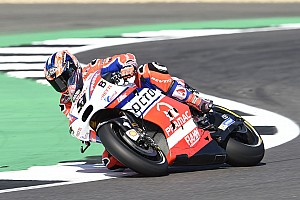 MotoGP Crónica de test Petrucci terminó adelante el viernes de Misano