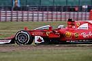 Vettel confiesa que se mareó al probar el 'Escudo' en Silverstone