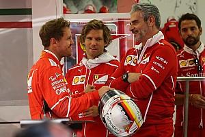 Formule 1 Actualités Vettel veut le maintien d'Arrivabene,