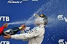 La historia detrás de la foto: Bottas prueba el champán