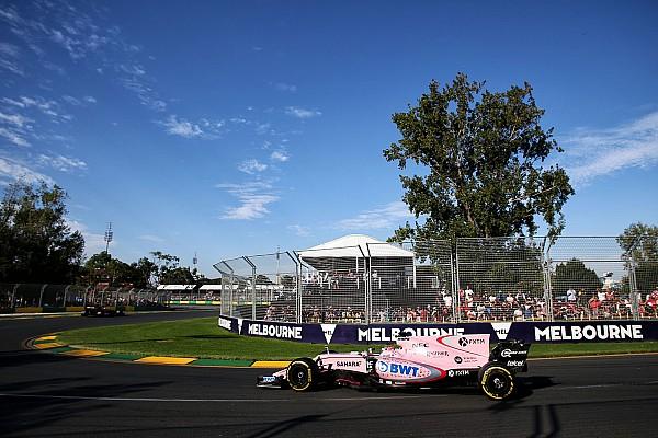"""Formule 1 Perez: """"Williams is op dit moment buiten bereik van Force India"""