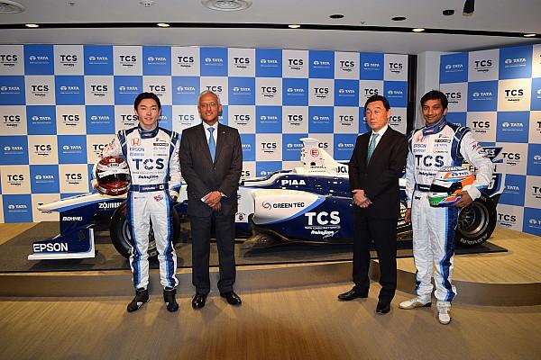 スーパーフォーミュラ 速報ニュース 【SF】NAKAJIMA RACING、タタ関連会社が冠スポンサーに就任