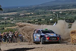 WRC Leg звіт Ралі Італія: Паддон - найкращий у дивну п'ятницю