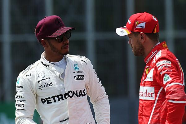 Formule 1 Interview Video: Hamilton waarschuwde Vettel na incident in Baku