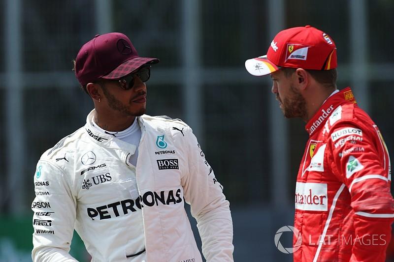 "Hamilton advertiu Vettel sobre ""desrespeito"" em Baku"