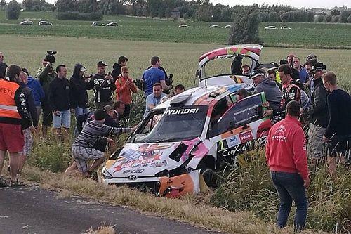 Vídeo: el accidente de Neuville en el Rally Ypres