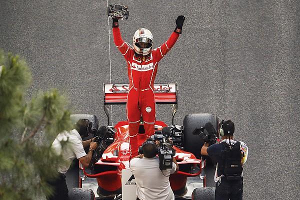 Fórmula 1 Últimas notícias Com vitória, Vettel dispara na liderança do campeonato; veja