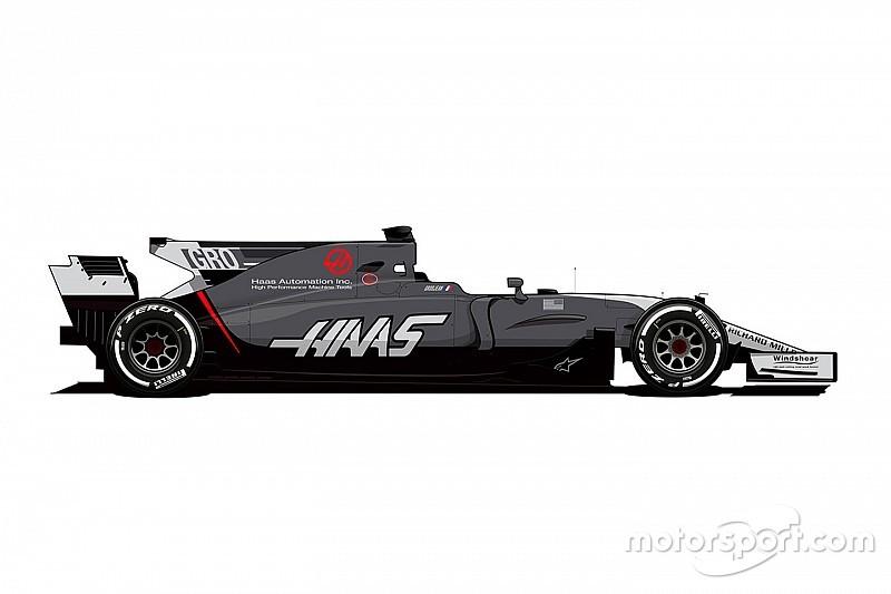 Haas renk düzenini değiştiriyor!