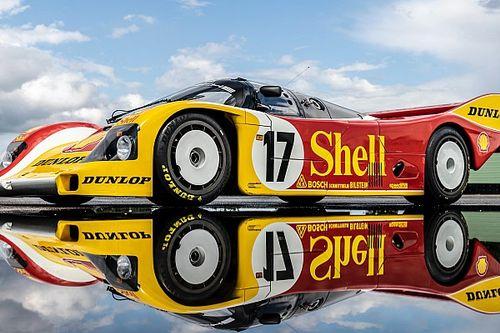 Porsche restaure entièrement une 962 C de 1987