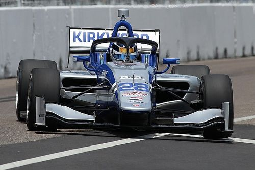 Detroit Indy Lights: Kirkwood beats Lundqvist for second win