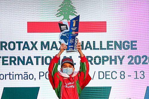 """كريستوفر فغالي يفوز بلقب فئة """"مايكرو"""" في السباق النهائي من كأس تحدِّي روتاكس ماكس الدولي"""