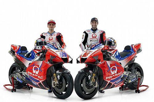Pramac 2021 MotoGP aracını, yeni sürücü kadrosuyla tanıttı
