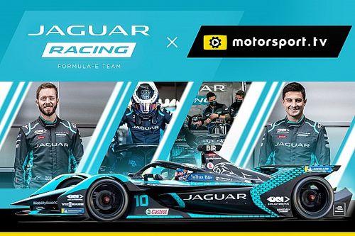 Jaguar bring fans inside Formula E with dedicated channel on Motorsport.tv