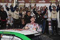 Michael Self holds off Hailie Deegan for Daytona ARCA win