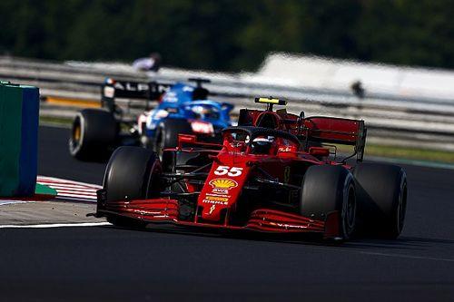 """Sainz:, 4º en Hungría: """"Era un podio seguro"""""""