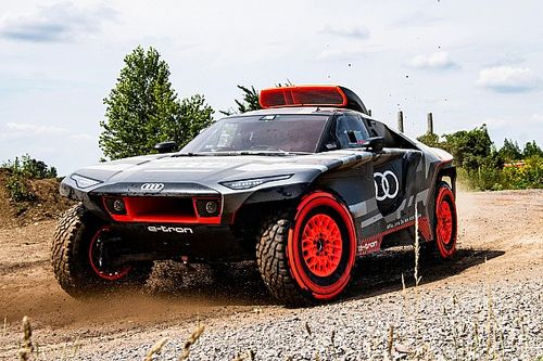 Audi reveals new electric-powered Dakar challenger