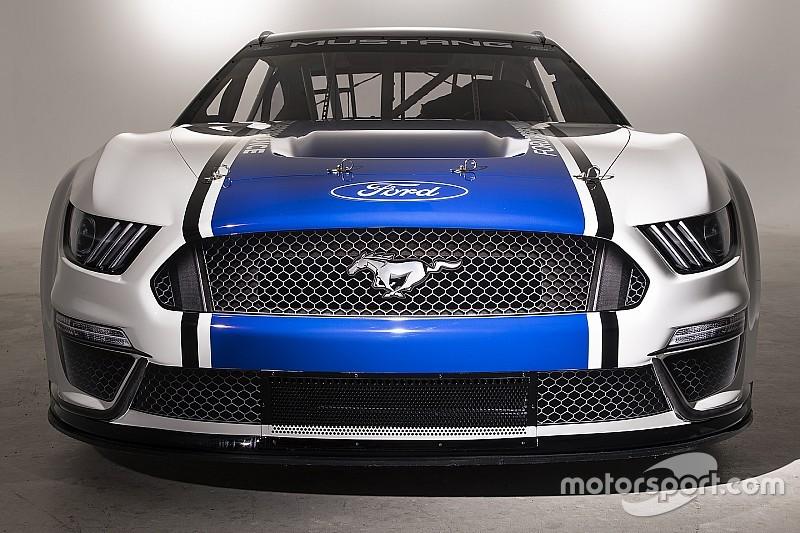Ford presentó su nuevo Mustang para la NASCAR Cup 2019