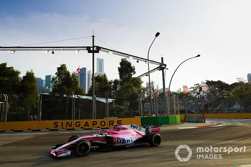 Force India'nın yeni takım olması, 85.000 Euro cezadan kurtulmasını sağladı