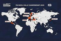 El WRC 2020 ya tiene nuevo calendario oficial