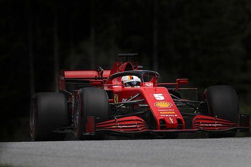 Dificuldades da Ferrari na classificação surpreenderam Vettel