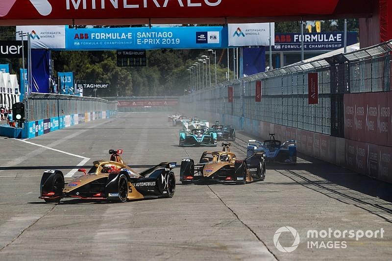 Vergne'in 20 yarışlık puan serisi Santiago'da sona erdi