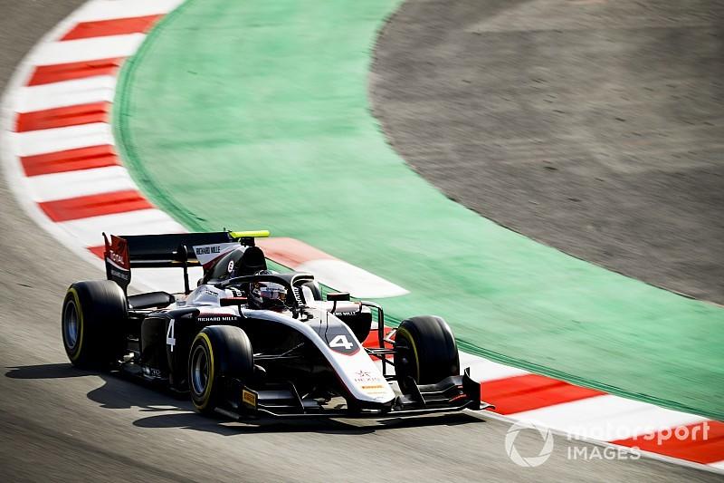 De Vries snelste op eerste F2-testdag Barcelona