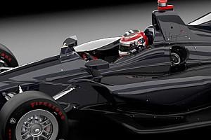 L'IndyCar présente une modification de sécurité pour son cockpit