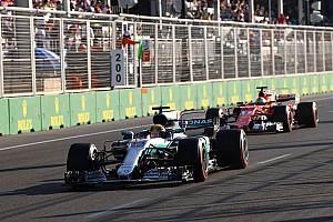 Fórmula 1 Artículo especial Las 20 historias de 2017, #10: Vettel y el choque con Hamilton en Bakú