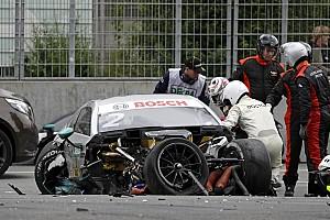 DTM News Crash am Norisring: DTM fühlt sich im Sicherheitskonzept bestätigt