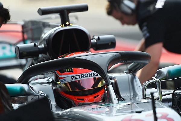 George Russell: Neue Version des F1-Halos garantiert bessere Sicht
