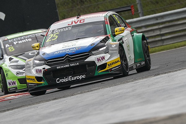 WTCC Race report Hungary WTCC: Bennani wins after Huff is penalised