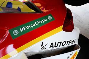 Stock Car Brasil Últimas notícias Equipes e pilotos da Stock Car homenageiam Chapecoense