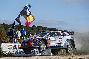WRC Noticias de última hora Neuville toma el liderato tras la primera especial del jueves
