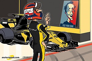 Formule 1 Contenu spécial L'humeur de Cirebox - Kubica, yes he can!