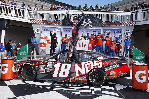 Kyle Busch llega a 90 victorias de Xfinity tras triunfar en Watkins Glen