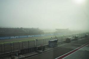 Moto3 Verslag vrije training Martin het snelst in uitgestelde warm-up, gewijzigd tijdschema