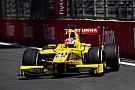 FIA F2 Baku F2: Nato wins as penalty thwarts charging Leclerc