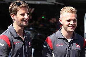 Formule 1 Actualités Haas conservera Grosjean et Magnussen en 2018