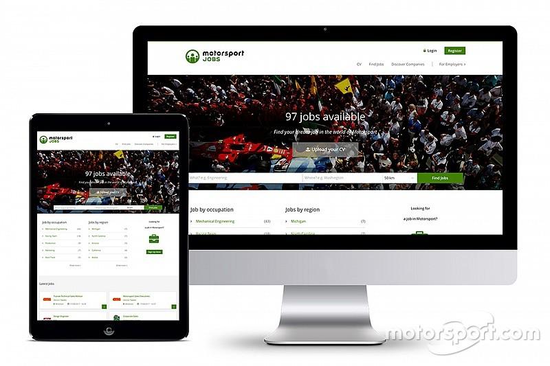 Motorsport Network luncurkan situs lowongan kerja - Motorsportjobs.com