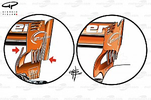 Formula 1 Analysis Tech analysis: McLaren's plan to increase rear downforce