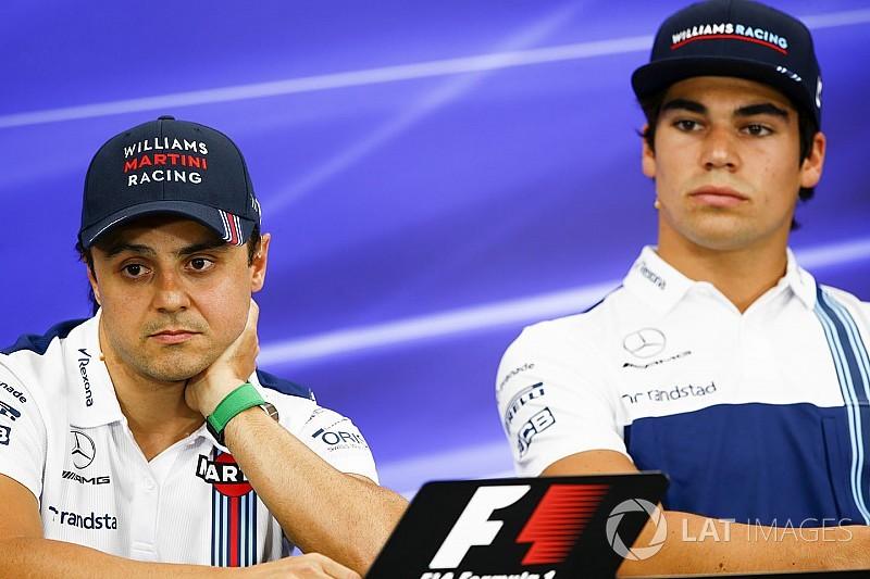 """Stroll haalt uit naar Massa na commentaar: """"Felipe is met pensioen"""""""
