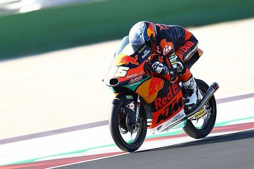 Moto3, Misano 2, Libere 1: Fernandez parte forte, Foggia 3°