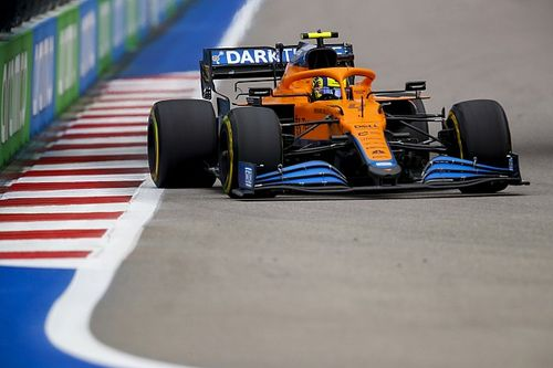 McLaren: Call to keep Norris on slicks in F1 Russian GP a team decision