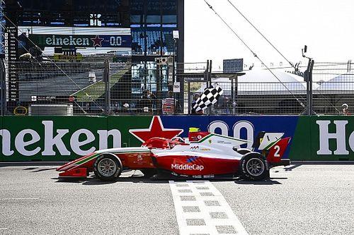 Leclerc gana por segunda vez en la F3 2021