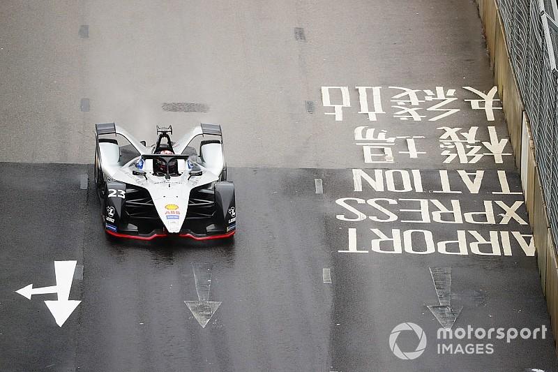 Diaporama : les suisses Buemi et Mortara dans le E-Prix de Hong Kong en Formule E