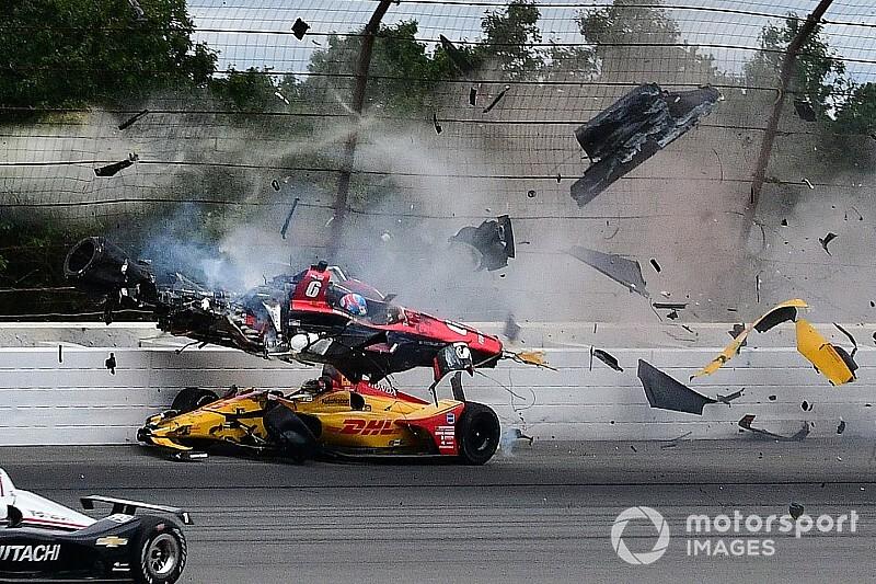 Wickens blessé mais miraculé après un crash spectaculaire