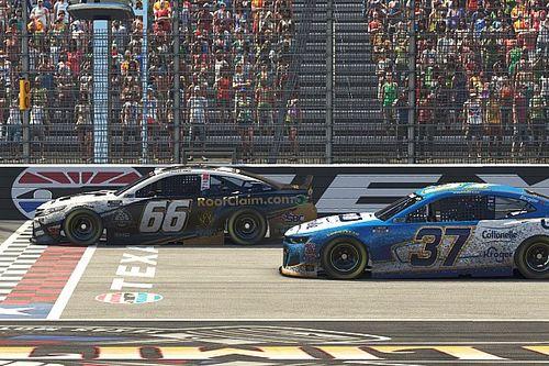 Timmy Hill aparece no fim e vence etapa virtual da NASCAR no Texas