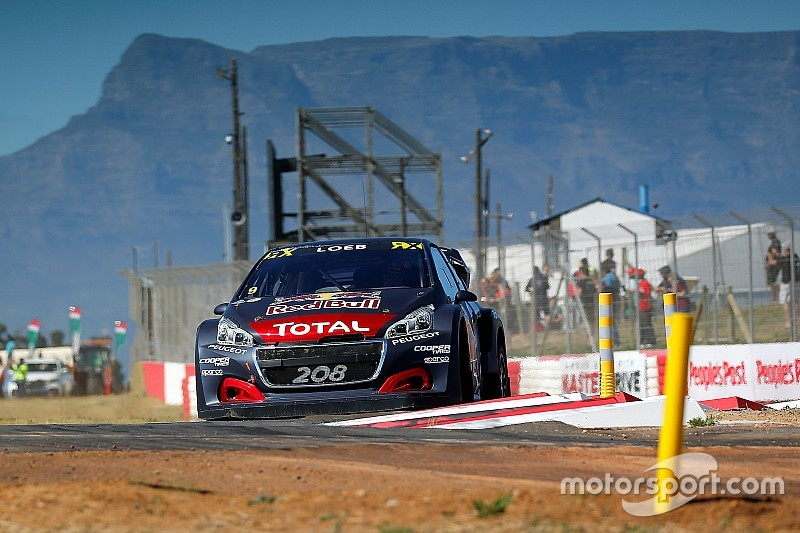 South Africa World RX: Loeb leads after Saturday
